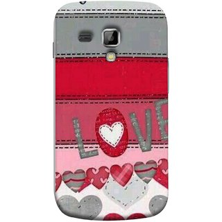 FUSON Designer Back Case Cover for Samsung Galaxy S Duos 2 S7582 :: Samsung Galaxy Trend Plus S7580 (Love Birds Couples Forever Full Of Love Pyar Valentine)