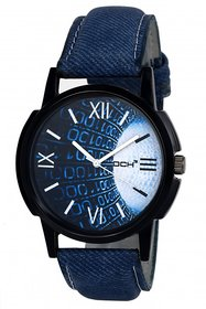 DCH IN-33 Blue Denim Analog Watch For Boys  Men