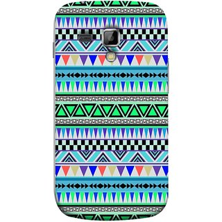 FUSON Designer Back Case Cover for Samsung Galaxy S Duos 2 S7582 :: Samsung Galaxy Trend Plus S7580 (Tribal Patterns Colourful Eye Catching Verity Different )