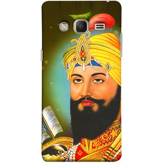 FUSON Designer Back Case Cover for Samsung Galaxy Z3 Tizen :: Samsung Z3 Corporate Edition (King Beautiful Frame God His Mission Blesses Eagle)