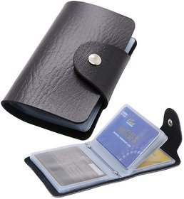Pack of 3 ATM Card Holder Leather 12 Card Brown or Black