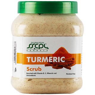 SSCPL HERBALS Turmeric Scrub 450g