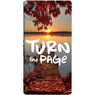 FUSON Designer Back Case Cover for Sony Xperia C6 Ultra Dual (Nice Good Morning Sunshine Rise Lake Shore )