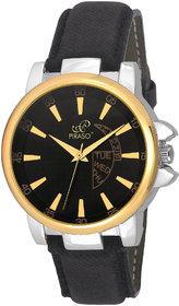 PIRASO 9131 Hot Black  Gold Decker Analog Watch - For M