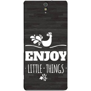 9b4e57c71 Buy FUSON Designer Back Case Cover for Sony Xperia C5 Ultra Dual :: Sony  Xperia C5 E5533 E5563 (Nice Beautiful Peacock Design With Texts In White)  Online ...
