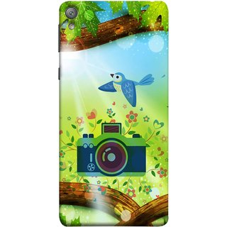 FUSON Designer Back Case Cover for Sony Xperia E5 Dual :: Sony Xperia E5 (Camera Nature Flowers Blue Sky White Clouds Beautiful )