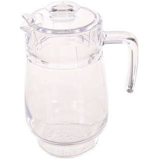 TRUENOW Ventures Pvt. Ltd. Glass Beaked Type Special Technology Water Jug 1.6 L With Plastic Lid