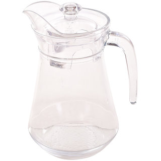 TRUENOW Ventures Pvt. Ltd. Glass Beaked Type Special Technology  Water Jug 1.3 L With Plastic Lid