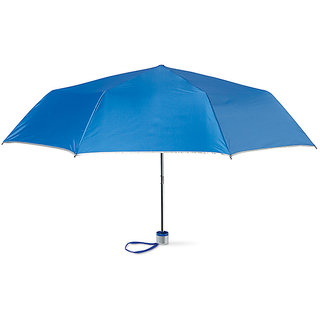 Sahaya Multicolor Tri fold Umbrella with cover for protection against rain and UV rays(Assorted Colors) 1 piece