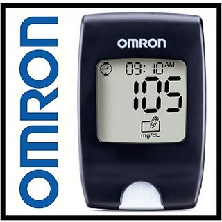 Omron Blood Glucose Monitor (HGM-112) for Checking Sugar Level For Diabetes  Care With VAT Paid Bill,1yr Manufacturer's Warranty