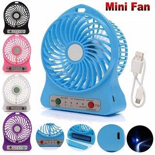 Portable Mini Rechargeable USB Fan Table Fan