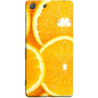FUSON Designer Back Case Cover for Sony Xperia M5 Dual :: Sony Xperia M5 E5633 E5643 E5663 (Lemon Agriculture Background Bud Candy Cell)