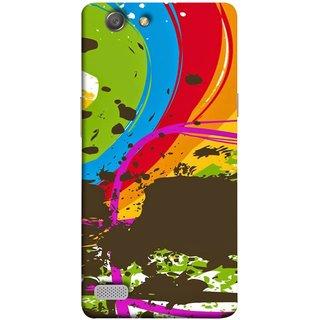 FUSON Designer Back Case Cover for Oppo Neo 7 :: Oppo A33 (Forest Nature Whimsical Fantasy Fine Art Spots)