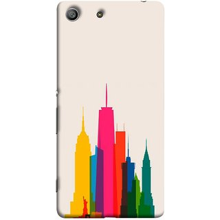 FUSON Designer Back Case Cover for Sony Xperia M5 Dual :: Sony Xperia M5 E5633 E5643 E5663 (Designs Have Emerged From Different Parts Of The World)