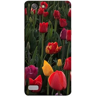 FUSON Designer Back Case Cover for Oppo Neo 7 :: Oppo A33 (Dark Bold Red Roses Chocolate Hearts For Valentines Day)