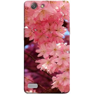 FUSON Designer Back Case Cover for Oppo Neo 7 :: Oppo A33 (Flowering Cherry Trees Pink Perfection Lovely Love )