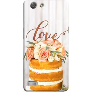 FUSON Designer Back Case Cover for Oppo Neo 7 :: Oppo A33 (Comes True Love You Forever Valentine Couples Lovers)