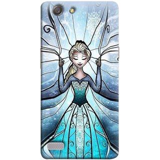 FUSON Designer Back Case Cover for Oppo Neo 7 :: Oppo A33 (The Blue Rose Doll Baby Girl Nice Dress Long Hairs )