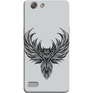 FUSON Designer Back Case Cover for Oppo Neo 7 :: Oppo A33 (Jungle Ka Night Rider Pencil Pen Sketch Best Wallpaper)