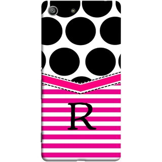 FUSON Designer Back Case Cover for Sony Xperia M5 Dual :: Sony Xperia M5 E5633 E5643 E5663 (Beautiful Cute Nice Couples Pink Design Paper Girly R)