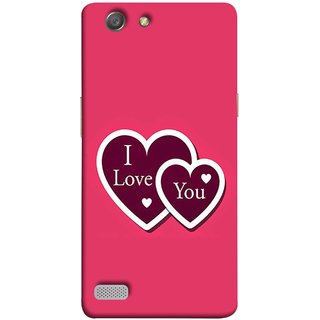 FUSON Designer Back Case Cover for Oppo Neo 7 :: Oppo A33 (Pink Red Wallpapers Boyfriends Pure True Relations)