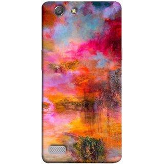 FUSON Designer Back Case Cover for Oppo Neo 7 :: Oppo A33 (Random Painting Rare Beautiful Husain Chitrakar Nice)