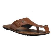 Franco Leone Men'S Beige Slip On Sandals