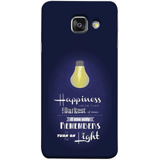 FUSON Designer Back Case Cover for Samsung Galaxy A3 (6) 2016 :: Samsung Galaxy A3 2016 Duos :: Samsung Galaxy A3 2016 A310F A310M A310Y :: Samsung Galaxy A3 A310 2016 Edition (If Only One Remembers To Turn On The Light)