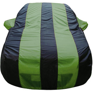 Autofurnish Stylish Green Stripe Car Body Cover For Toyota Innova -  Arc Blue