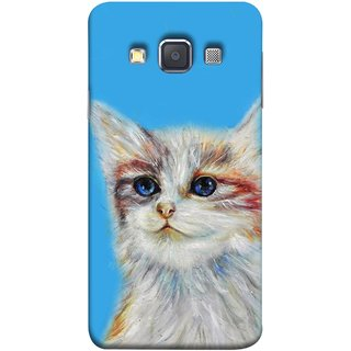FUSON Designer Back Case Cover for Samsung Galaxy A5 (2015) :: Samsung Galaxy A5 Duos (2015) :: Samsung Galaxy A5 A500F A500Fu A500M A500Y A500Yz A500F1/A500K/A500S A500Fq A500F/Ds A500G/Ds A500H/Ds A500M/Ds A5000 (Dog Cat Kitten Whisker Puppy Triangle Re