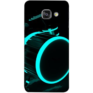 FUSON Designer Back Case Cover for Samsung Galaxy A5 (6) 2016 :: Samsung Galaxy A5 2016 Duos :: Samsung Galaxy A5 2016 A510F A510M A510Fd A5100 A510Y :: Samsung Galaxy A5 A510 2016 Edition (Lighted Drums Led Light Up Drum Set Drum Lights )