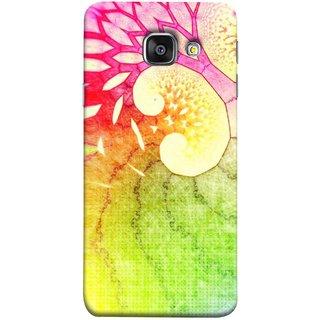 FUSON Designer Back Case Cover for Samsung Galaxy A5 (6) 2016 :: Samsung Galaxy A5 2016 Duos :: Samsung Galaxy A5 2016 A510F A510M A510Fd A5100 A510Y :: Samsung Galaxy A5 A510 2016 Edition (Colourful Art Design River Shape Random Perfect)