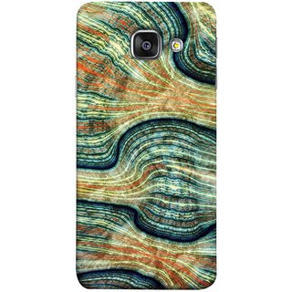 FUSON Designer Back Case Cover for Samsung Galaxy A5 (6) 2016 :: Samsung Galaxy A5 2016 Duos :: Samsung Galaxy A5 2016 A510F A510M A510Fd A5100 A510Y :: Samsung Galaxy A5 A510 2016 Edition (Rivers Lining Artist Perfect Waves Wavelength)