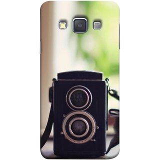 Fuson Hard Plastic Back Cover For Samsung Galaxy A5