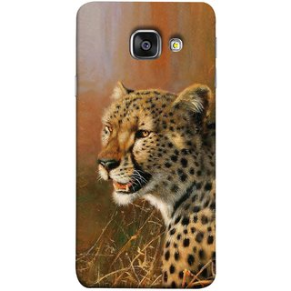 FUSON Designer Back Case Cover for Samsung Galaxy A5 (6) 2016 :: Samsung Galaxy A5 2016 Duos :: Samsung Galaxy A5 2016 A510F A510M A510Fd A5100 A510Y :: Samsung Galaxy A5 A510 2016 Edition (Jungle King Stearing Angry Roaring Loud Aslan Panther)