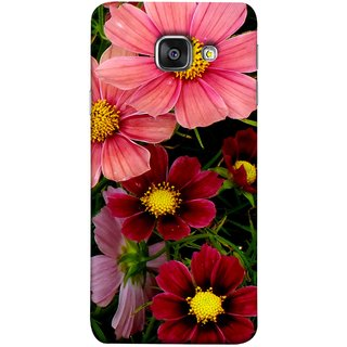 FUSON Designer Back Case Cover for Samsung Galaxy A5 (6) 2016 :: Samsung Galaxy A5 2016 Duos :: Samsung Galaxy A5 2016 A510F A510M A510Fd A5100 A510Y :: Samsung Galaxy A5 A510 2016 Edition (Flower Grass Green Small Nice Colourful Gerbera )