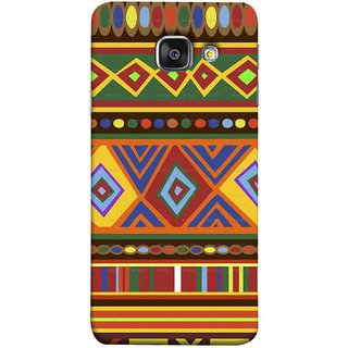 FUSON Designer Back Case Cover for Samsung Galaxy A5 (6) 2016 :: Samsung Galaxy A5 2016 Duos :: Samsung Galaxy A5 2016 A510F A510M A510Fd A5100 A510Y :: Samsung Galaxy A5 A510 2016 Edition (Tribal Patterns Colourful Eye Catching Verity Different )
