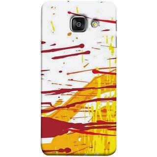 FUSON Designer Back Case Cover for Samsung Galaxy A5 (6) 2016 :: Samsung Galaxy A5 2016 Duos :: Samsung Galaxy A5 2016 A510F A510M A510Fd A5100 A510Y :: Samsung Galaxy A5 A510 2016 Edition (Artwork Acid Bright Wallpaper Yellow Shades)