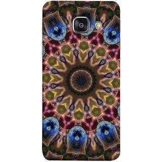 FUSON Designer Back Case Cover for Samsung Galaxy A5 (6) 2016 :: Samsung Galaxy A5 2016 Duos :: Samsung Galaxy A5 2016 A510F A510M A510Fd A5100 A510Y :: Samsung Galaxy A5 A510 2016 Edition (Cotton Quilt Artwork Freestyle Design Floral Best Design )
