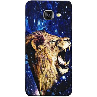 FUSON Designer Back Case Cover for Samsung Galaxy A5 (6) 2016 :: Samsung Galaxy A5 2016 Duos :: Samsung Galaxy A5 2016 A510F A510M A510Fd A5100 A510Y :: Samsung Galaxy A5 A510 2016 Edition (Wallpaper Abstract Grunge Whiskers Sharp Teeth )