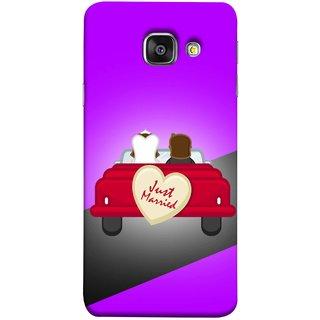 FUSON Designer Back Case Cover for Samsung Galaxy A5 (6) 2016 :: Samsung Galaxy A5 2016 Duos :: Samsung Galaxy A5 2016 A510F A510M A510Fd A5100 A510Y :: Samsung Galaxy A5 A510 2016 Edition (Banner Boards Marriage Coulples Car Travel )