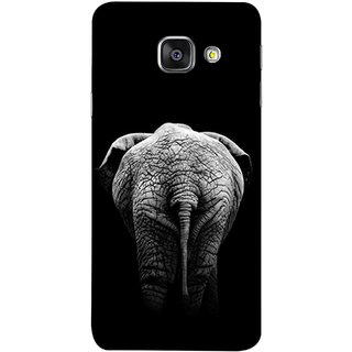 FUSON Designer Back Case Cover for Samsung Galaxy A5 (6) 2016 :: Samsung Galaxy A5 2016 Duos :: Samsung Galaxy A5 2016 A510F A510M A510Fd A5100 A510Y :: Samsung Galaxy A5 A510 2016 Edition (Side View Of Jungli Animal Forest Trees Leaves Branches)