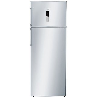 Bosch 401 L 2 Star Frost-Free Double Door Refrigerator (KDN46XI30I  Chrome Inox Metallic  Inverter Compressor)