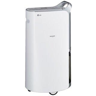 LG LD156QSD0.AIDA Portable Room Air Purifier  (White)