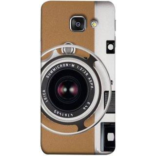 FUSON Designer Back Case Cover for Samsung Galaxy A5 (6) 2016 :: Samsung Galaxy A5 2016 Duos :: Samsung Galaxy A5 2016 A510F A510M A510Fd A5100 A510Y :: Samsung Galaxy A5 A510 2016 Edition (Lecia Cam Photos Negatives Click Zoom Manual )