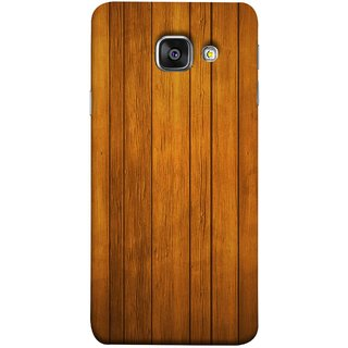 FUSON Designer Back Case Cover for Samsung Galaxy A5 (6) 2016 :: Samsung Galaxy A5 2016 Duos :: Samsung Galaxy A5 2016 A510F A510M A510Fd A5100 A510Y :: Samsung Galaxy A5 A510 2016 Edition (Unique Wooden Pine Background Vintage Table Tiles)