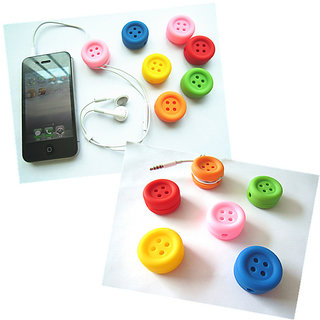 Futaba Button Shaped Cable Winder / Organiser - Pack of Two