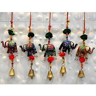 Royal Arts And Crafts Special Diwali Home Decorative Handmade Rajasthani Elephant Door Hanging For Home Deacutecor Pake Of- 15 Door Hanging