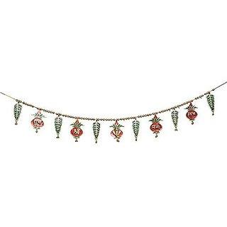 Royal Arts And Crafts Metal Superior Quality Decorative Ethnic Bandarwal Toran Door Hangings