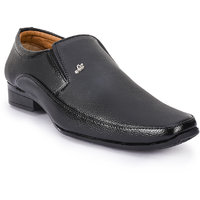 Shoes Bucket Black Slip On Formal Shoes For Men's  SB05